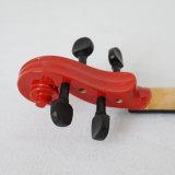 Violino por atacado com a caixa dura do violino para a venda