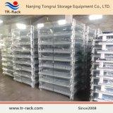 Piegare e gabbia accatastabile di memoria/contenitore galvanizzato della rete metallica
