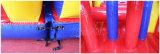 Parcours d'obstacle gonflable Double Lane pour jeux de sport (CHOB210-1)