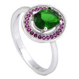 Nieuwe Ring 925 van CZ van Stijlen de Zilveren Ringen van de Diamant