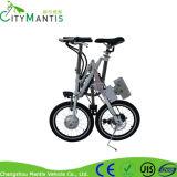 E-Bicicleta de dobramento do aço de carbono de 18 polegadas