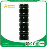 China fabrica la lista de precios solar de la luz de calle de 60 W LED para la lámpara del jardín