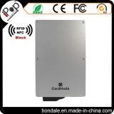 Sostenedor de la tarjeta de crédito de la identificación de la venta caliente para bloquear la exploración de RFID