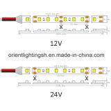 Dual-Línea tira impermeable de la UL Epistar SMD5050 de IP68 LED
