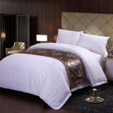 ホテルのコレクションの最もよいエジプト綿の縞の寝具セット