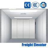 Elevación del elevador de las mercancías con tecnología de seguridad pintada de colmo del acero inoxidable