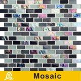 Hete Verkoop 8mm het Horizontale Mozaïek van het Glas van het Kristal van de Mengeling voor de Reeks van de Horizon van de Decoratie van de Muur (S.A. 05/A06 van de Horizon)