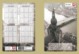 Alto cuaderno del Hardcover de la cantidad A4 con las existencias grandes para la promoción