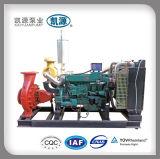 Van het Diesel van Xbc de CentrifugaalPomp Met motor Water van de Brandbestrijding