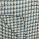 Schlankes Check Houndstooth Wolle-Gewebe betriebsbereit