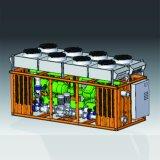 Unità raffreddata aria industriale del refrigeratore di acqua