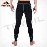 La forma fisica del Mens ansima la ginnastica di uomini dei pantaloni di sport Legging
