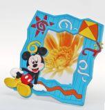 As vendas por atacado personalizaram o frame macio da foto do PVC do projeto do logotipo
