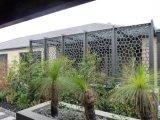Écran extérieur de jardin coupé par laser percé par aluminium décoratif en métal