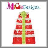 Piatto e piatto di ceramica di alta qualità di disegno dell'albero di Natale