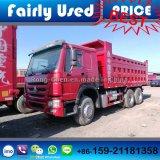 Utilice el transporte HOWO camión volquete de 6 * 4