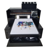 A melhor impressora Inkjet Flat-Panel de venda do tamanho pequeno barato de Digitas A1 A2 A3 A4 para o t-shirt