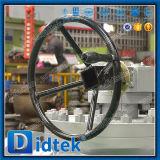 Шариковый клапан фланца 3 стали углерода Didtek трехходовой