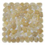 Mosaico de piedra del río