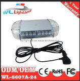 24 LED, die MiniLightbar LED Röhrenblitz-Lampe warnt