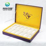 Caixa de empacotamento cosmética maravilhosa com carimbo quente
