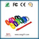 Instrument USB marqué bracelet USB Pendrive de silicones