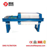Pequeña máquina manual de la prensa de filtro de Gato