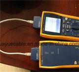 Clinquant de F/UTP au-dessus de câble d'acoustique de connecteur de câble de twisted pair non protégé/de transmission de câble de caractéristiques câble d'ordinateur