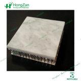 Панель сота мраморный текстуры алюминиевая