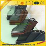 Fabricante de aluminio Windows de aluminio de ofrecimiento con los vidrios de pasto dobles