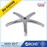 Die fundición de aluminio Silla de oficina de piezas de cinco estrellas Base