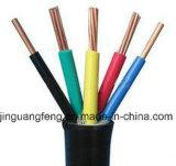 câblage cuivre flexible d'alarme isolé par PVC du faisceau 300/500V 5