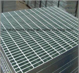Plataforma Grating de acero galvanizada sumergida caliente de la prolongación del andén