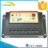 Luz del regulador de la carga de Regulater de la batería del panel de PWM 20A Epsolar y trabajo auto 12/24VDC del temporizador