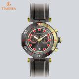 メンズ多機能の偶然の腕時計のクロノグラフのスポーツカスタム極度の明るいWatch72492