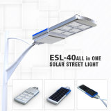High Lumen Integrated Solar Street Lights Batterie remplaçable Éclairage extérieur