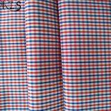 ワイシャツまたは服Rls60-12poのための綿の縞のポプリンによって編まれるヤーンによって染められるファブリック