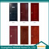 Personalizar a porta de painel americana do MDF do folheado de madeira moderno/Lacquer/PVC