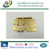 CNCの精密な機械化の銅の部品、銅の機械装置部品