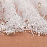 Оптовый хлопок/Nylon шнурок ресницы гипюра для платья венчания