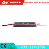 12V-20W 일정한 전압 알루미늄 쉘 방수 LED 전력 공급