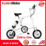 """16 """" Ebikeを折る電気バイクを折るタイヤ250W"""
