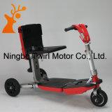Roue pliée du scooter 3 de mobilité de prix usine pliant le scooter électrique