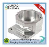 Peça fazendo à máquina do CNC e fazer à máquina de alumínio