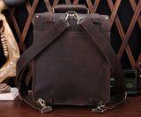 Bolsa de couro multifuncional em couro de primeira camada