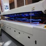 Aire caliente de convección SMT reflujo horno con malla transportadora (A8)