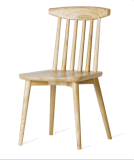 Деревянный стул бистро
