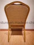 Verwendeter Eisen-Rahmen-moderner Metallgaststätte-Stuhl-/Chair-Entwurf für Gaststätte