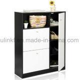 Armario al por mayor de la cabina de cocina de la melamina del guardarropa (UL-WR001)
