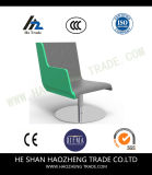 고위 회색, 녹색 여가 의자 팔걸이